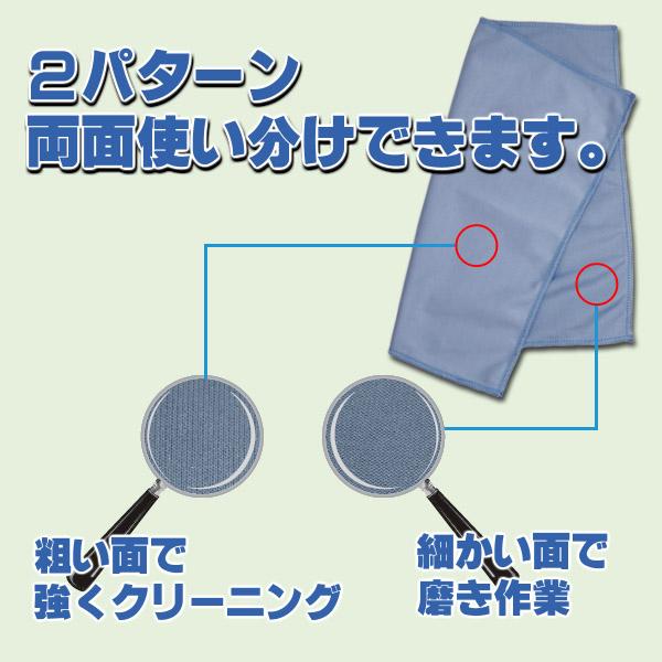 iK プレミアム・グラスクロス - ガラス用 高密度・高耐久マイクロファイバークロス